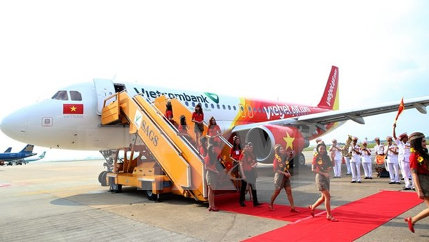 Vietjet Air honoured as most favourite airline hinh anh 1