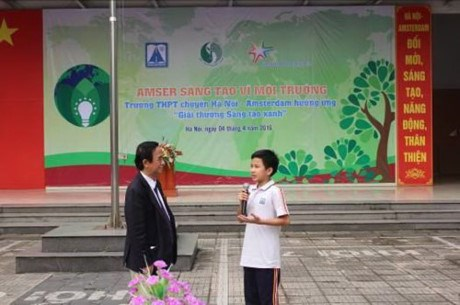 Competition on environmental protection kicks off in Hanoi hinh anh 1