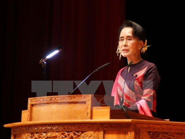 Myanmar President proposes to change Aung San Suu Kyi's portfolios hinh anh 1