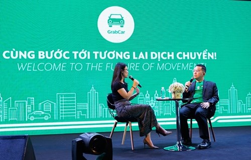 GrabCar officially launched in HCM City hinh anh 1