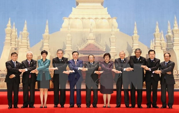 Laos hosts 20th ASEAN Finance Ministers' Meeting hinh anh 1