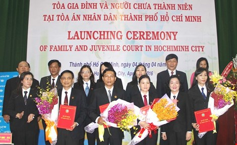 Family, juvenile court makes debut in HCM City hinh anh 1