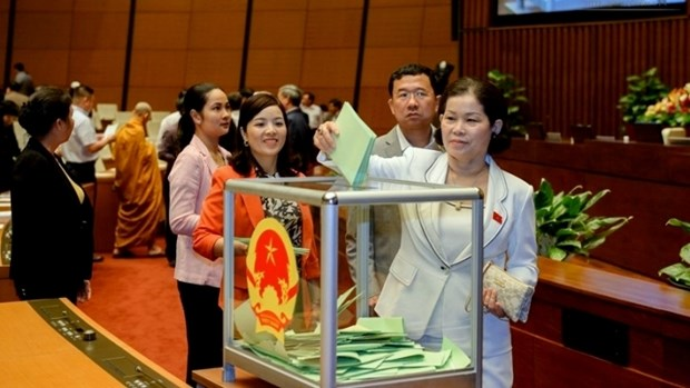 Training course held for female candidates standing for NA election hinh anh 1