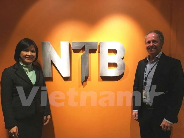 Norwegian press agency wishes to cooperate with VNA hinh anh 1