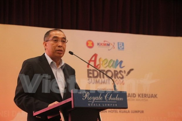 Malaysia proposes ASEAN News Agency at regional editors meeting hinh anh 1