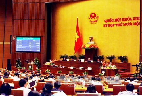 Laws approved, Prime Minister relieved by parliament hinh anh 1