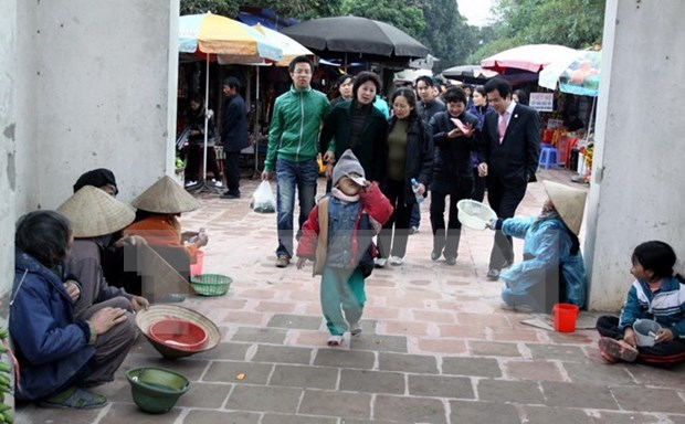Nha Trang city resolute to clear beggars from streets hinh anh 1
