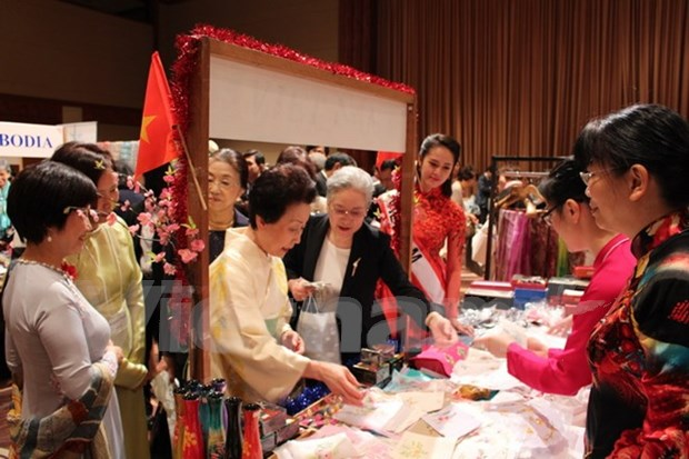 Vietnam attends Asia Pacific Ladies' charity fair hinh anh 1