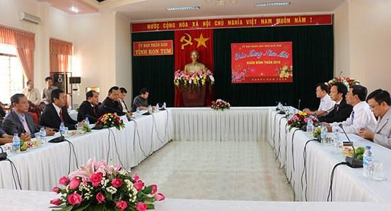 Kon Tum, Stung Treng seek productive cooperation hinh anh 1