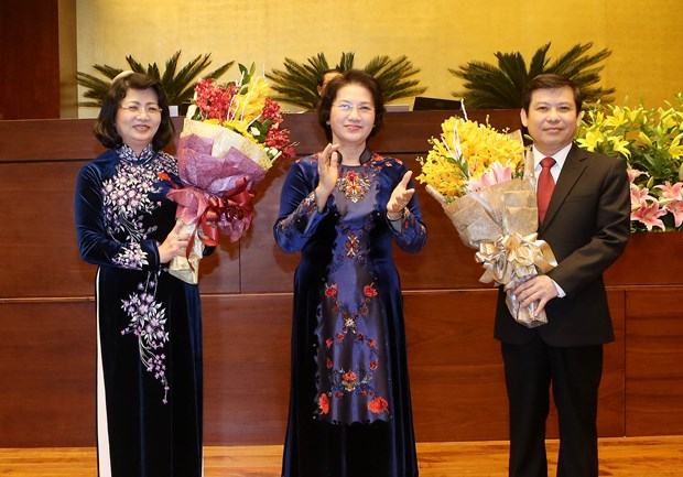 National Assembly elects new Vice President, top judicial officials hinh anh 1