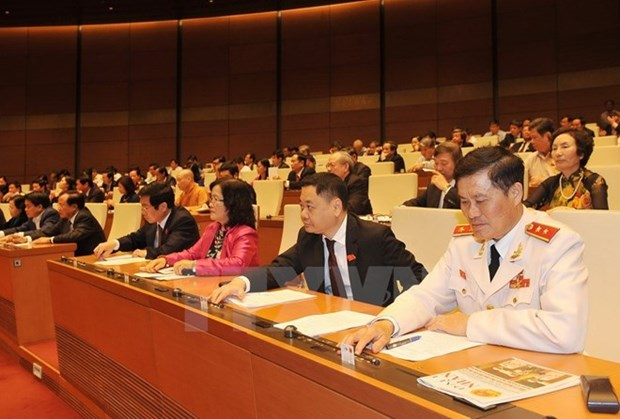 NA adopts revised law on signing, joining, implementing int'l treaties hinh anh 1