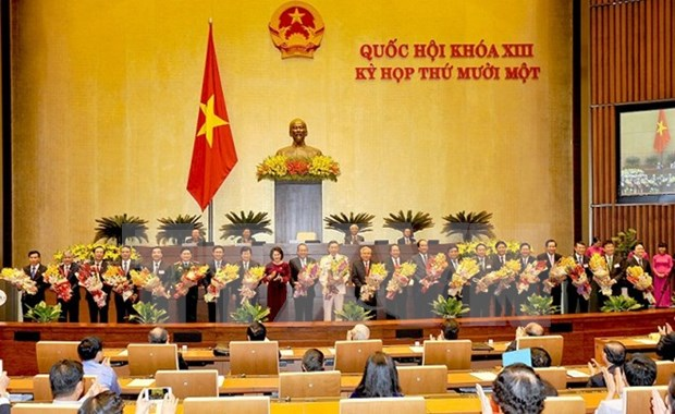 NA approves new Deputy PMs, Ministers, Cabinet members hinh anh 1
