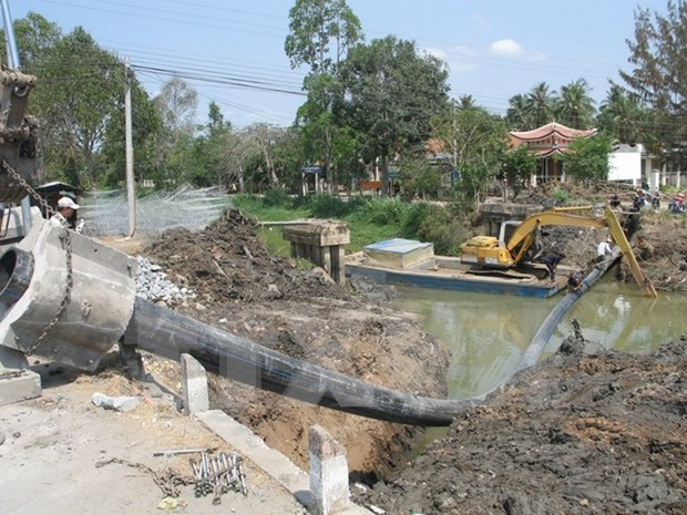 Tien Giang: Fresh water to be supplied to over 30,000 households hinh anh 1