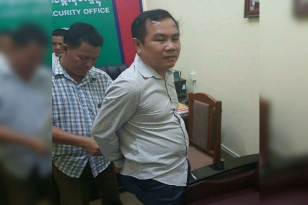Cambodia: Lawmaker arrested for use of fake border map hinh anh 1