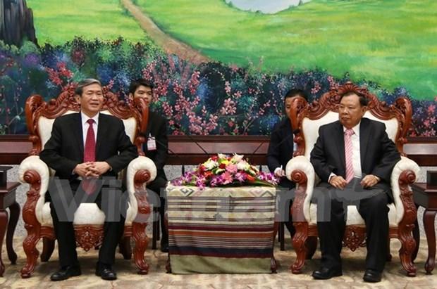 Vietnam, Laos tighten time-honoured solidarity hinh anh 1