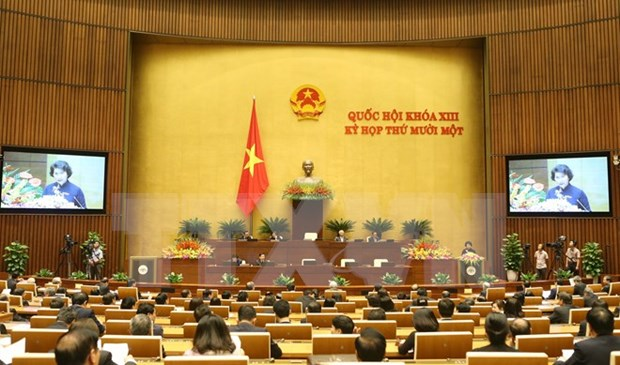 13th National Assembly's last session a success hinh anh 1