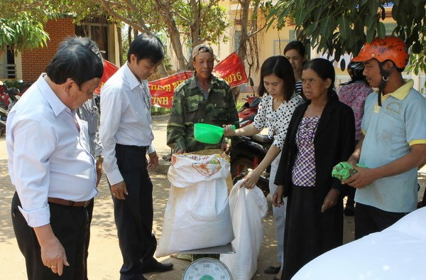 Ethnic people in Dak Lak receive Gov't rice support hinh anh 1