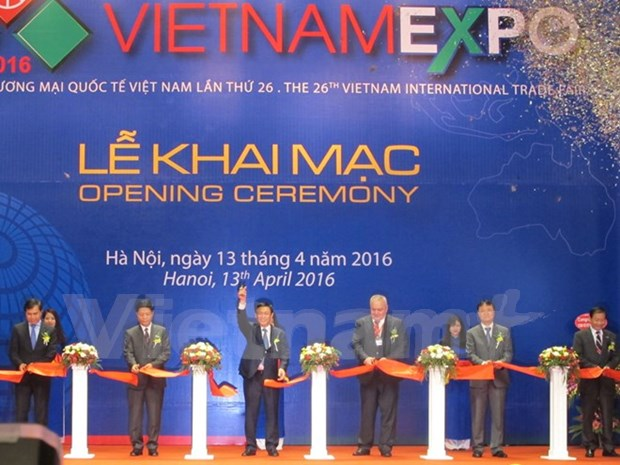 Vietnam Expo 2016 opens in Hanoi hinh anh 1