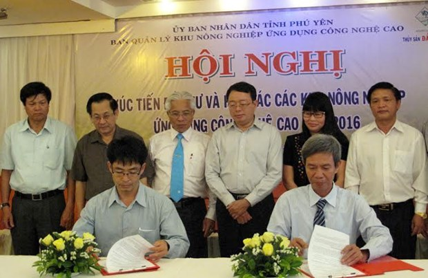 Phu Yen boosts cooperation in hi-tech agriculture hinh anh 1