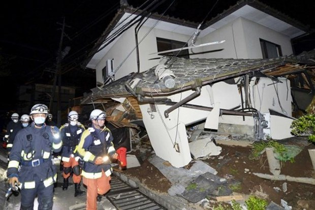 Vietnamese-related information on Japan earthquake not yet available hinh anh 1