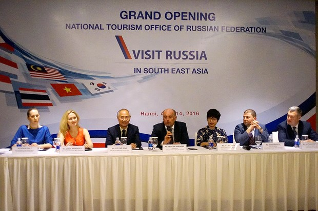 Russia bases Asia tourism office in Hanoi hinh anh 1