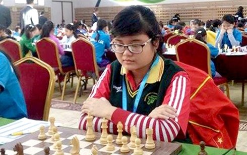 Vietnam win golds in Asian youth chess champs hinh anh 1