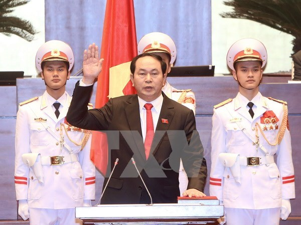 More congratulations sent to Vietnamese newly-elected leaders hinh anh 1