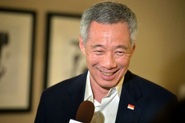 Singaporean PM paying official visit to Middle East hinh anh 1