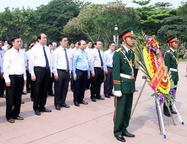 Heroic martyrs commemorated in Quang Tri province hinh anh 1