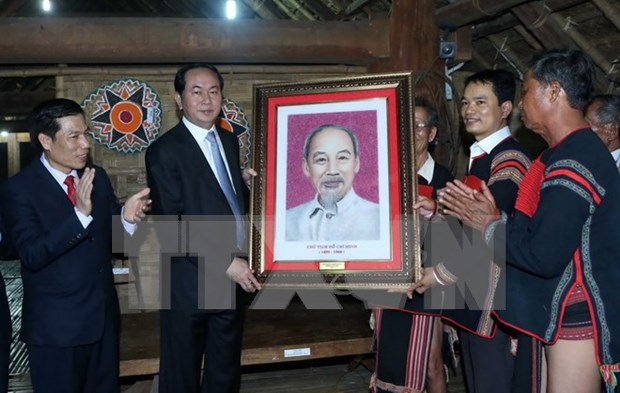 President attends ethnic groups' cultural day hinh anh 1