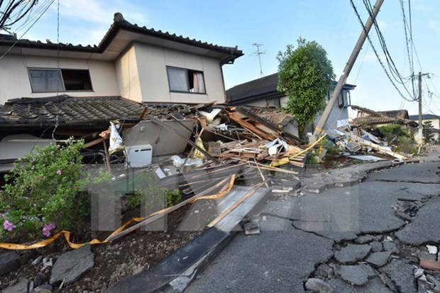 Condolences to Japan over earthquakes hinh anh 1