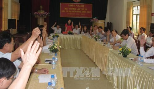 Third consultation round approves 1,121 candidates for NA election hinh anh 1