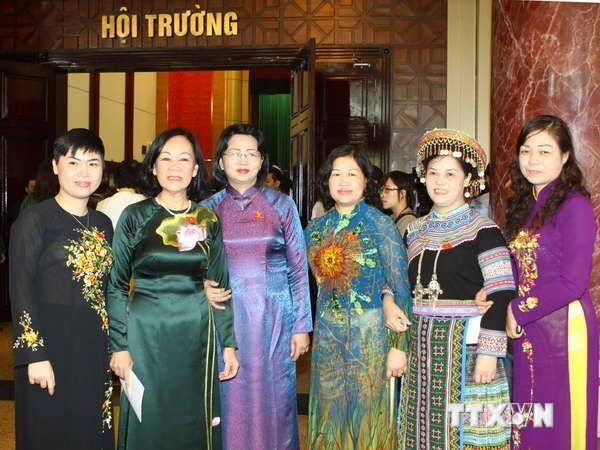 Vietnam ranks 54th in terms of female presence in parliament hinh anh 1