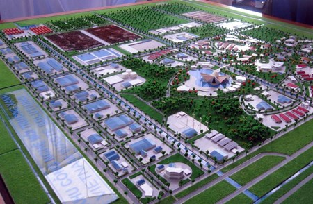 Long An to house environmentally-friendly waste treatment park hinh anh 1