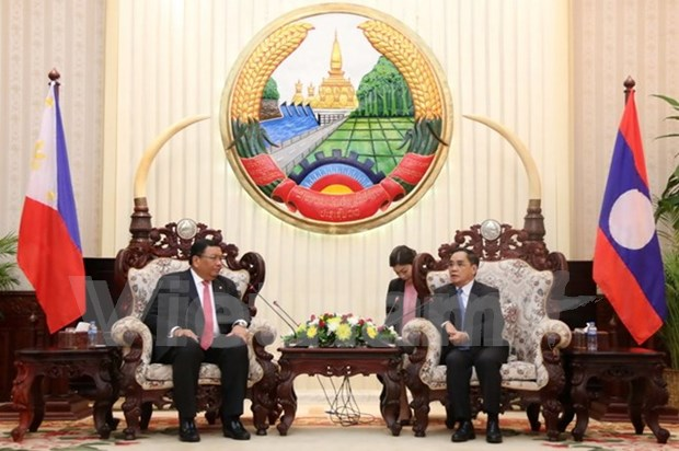 Laos, Philippines strengthen cooperation hinh anh 1