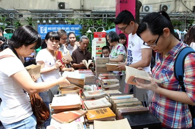 Third Vietnam Book Day opens in Hanoi hinh anh 1