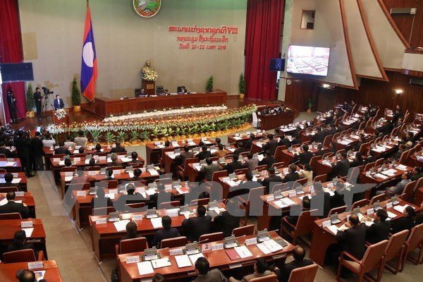 Lao new legislature opens first session hinh anh 1