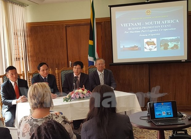 Vietnam, South Africa eye closer ties in maritime transport hinh anh 1