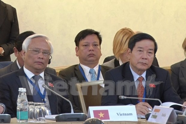 Vietnam attends first meeting of Eurasia parliament speakers hinh anh 1