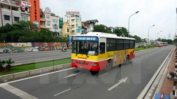 New bus route to connect Hanoi downtown and Noi Bai Airport hinh anh 1