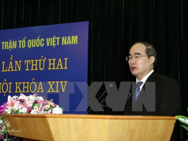 Vietnam Fatherland Front wants effective candidate-voter meetings hinh anh 1