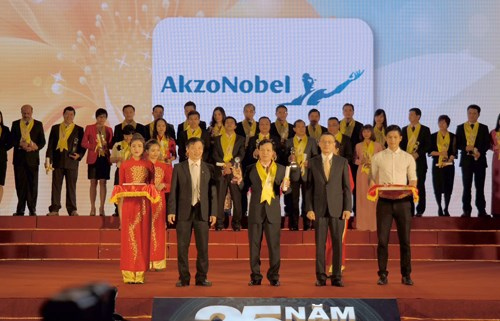 AkzoNobel wins Rong Vang award for 3rd year hinh anh 1