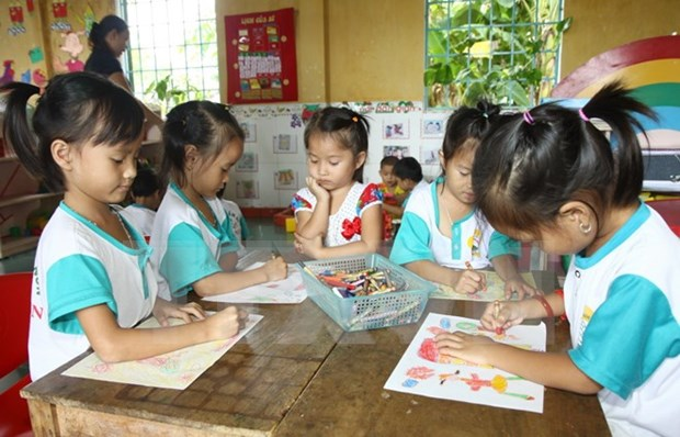 Thanh Hoa: 1.75 m USD funded for kindergarten meals hinh anh 1