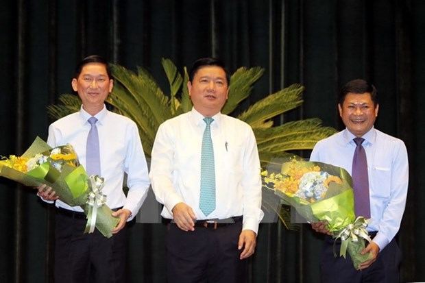 HCM City People's Committee has two new vice chairmen hinh anh 1