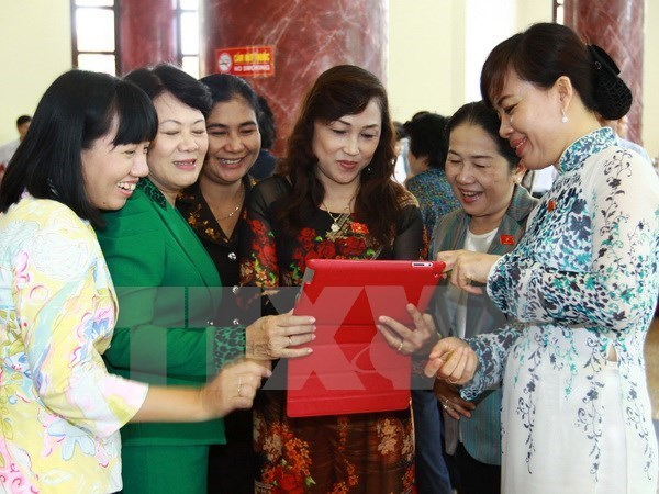 HCM City outstrips national average in gender equality promotion hinh anh 1