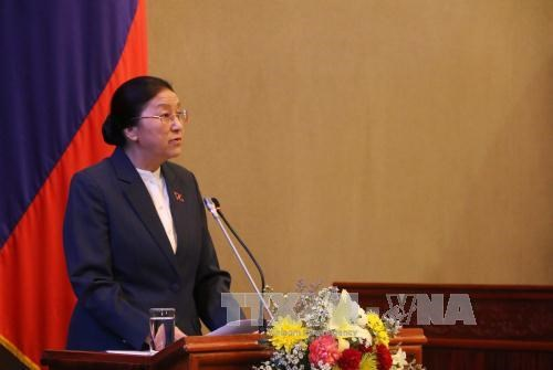 Laos: First session of new National Assembly winds up hinh anh 1