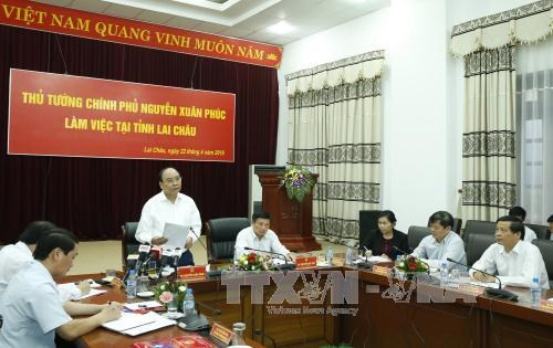 PM orders help for Lai Chau to develop infrastructure hinh anh 1