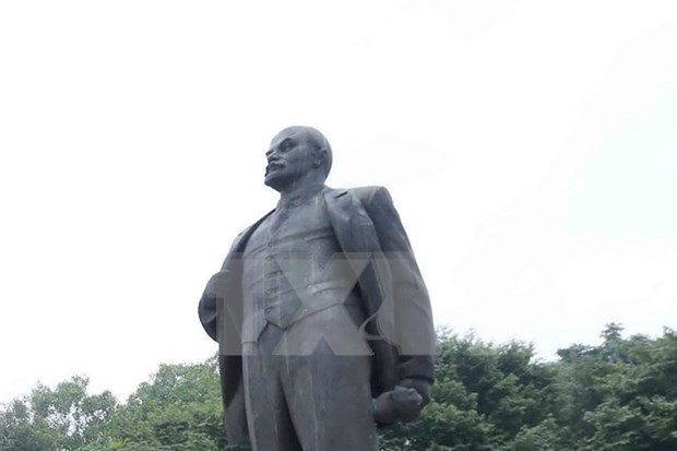 Hanoi commemorates Russian revolutionary leader hinh anh 1