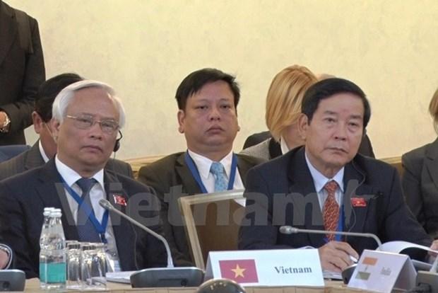 Vietnam-Mongolia legislativeties thriving, says NA Vice Chairman hinh anh 1
