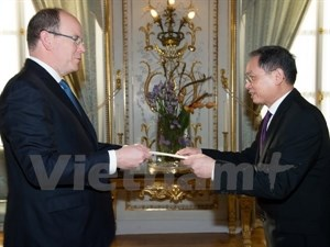Vietnam's honorary consular office opens in Monaco hinh anh 1